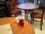 シアトルズベストコーヒー新宿南口店(丸テーブル2)